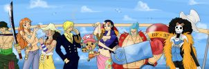 We Are 15th - One Piece by Gkenzo