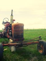 Tractor by abbeyagraves