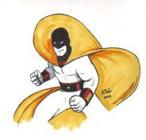 Space Ghost by abelgrave