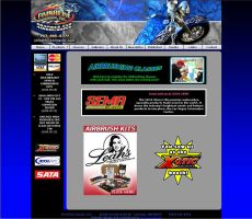 Finishline Design Inc. website by sequential