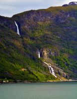 Sailing the fjords to Skjolden 29 by abelamario