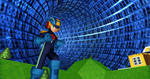 MMD Newcomer Megaman Hub + DL by Valforwing