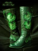 Mirkwood Footsteps elvish boots by Gwillieth
