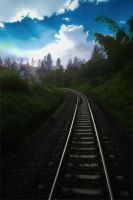 rail by gegetlonely