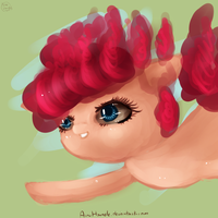 30 minute challange :Pinkie Fly: by AnuHanele