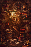 Bookkeeper by CuriousCucumber