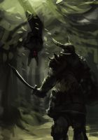1 hr speedpaint - Encounter by matt-radway