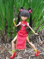 Devil Hunter Yohko - Monster High Custom by stormfaerie