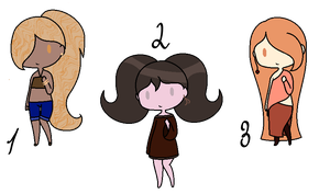 Big Hair Adopts .: OPEN :. by Plain-Jane-dopts
