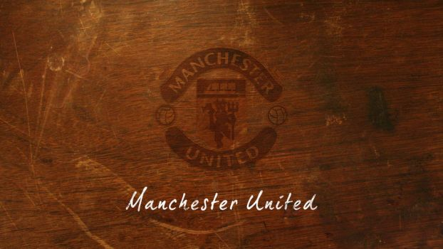 Manchester United on table by shydevilo