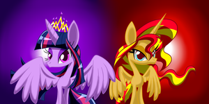 Twilight With Sunset by LOVEHTF421