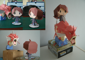 Papercraft Silver by MountainOfCookies
