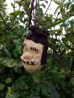 Shrunken Head 1 by knerdy-knits