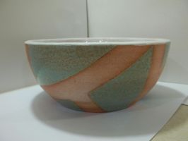 Terra Cotta bowl by TheMagentaCrayon