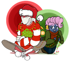 StM:: Secret Santa by Norbiester
