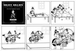 Silent Sillies 018 - Tom the Talented Turtle by JK-Antwon