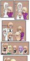Lowee Sisters Favorite Pasttime by AndrewWong