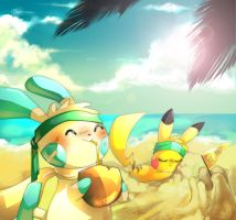 beachside by Poketix