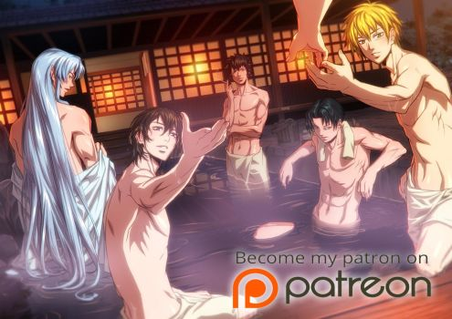 Harem with male characters :P by xong