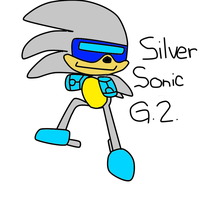 Silver Sonic G.2. (For MeltingMan234) by LugiaboyThePony