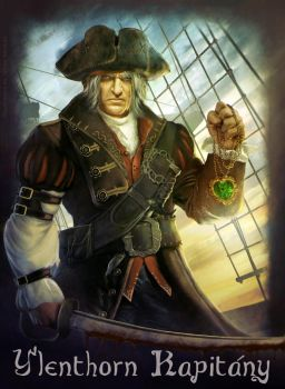 Pirate _ Captain Y'Lenthorn by Straban