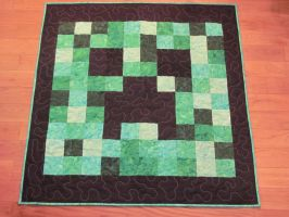 Creeper Lap Quilt by quiltoni
