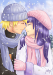 Secret Santa: NaruHina by piinl