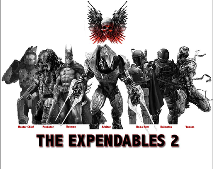 The Expendables 2 by Kaimetsu14