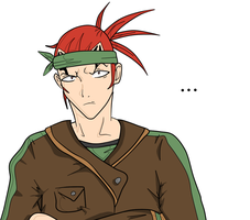 .:GIFT:. Renji - WIP by Iycecold