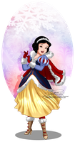 Winter Princess - Snow White by selinmarsou