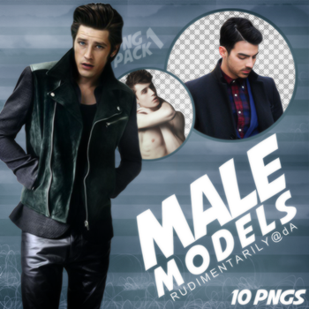 PNG PACK #1 - Random Male Models by rudimentarily