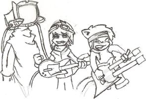 vgcats flcl inked by Dessan-san