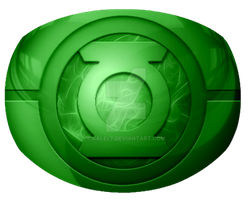 Green Lantern Ring design 3 by KalEl7