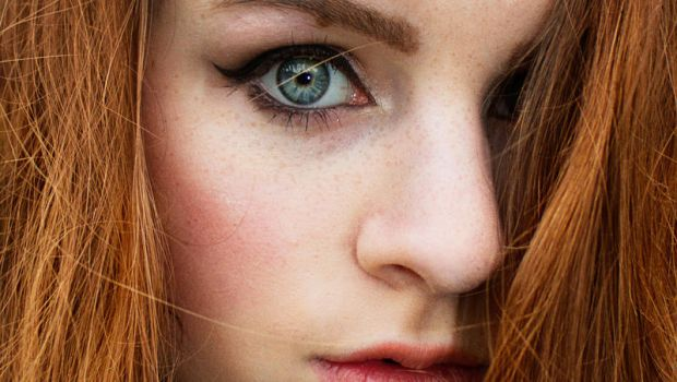 Always wanted to be a redhead with freckles by Irym