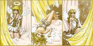 Three angels for... by AngelinaCullen