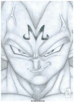 Vegeta by Beelthand