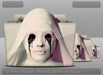 American Horror Story TV Serie Folder Icon by atty12