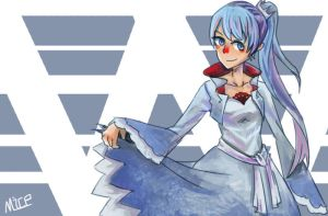 Weiss Schnee-RWBY by MICE-KING