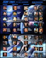 Star Trek TNG Revival Cast by XxTaraxKitaidexX