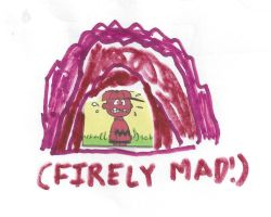 Charlie Brown - FIRELY MAD! by dth1971