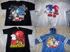 Sonic Clothing by Fuzon-S