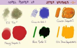 Jitter Brushes  - 2 - by fmr0