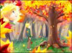 Tancred and the Tree by MidoriGale