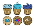 sweet social icon set by appiarius