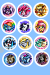 My Little buttons- possible collection by Warped-Dragonfly