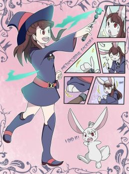 Akko's Rabbit TF [Digital] by FezMangaka