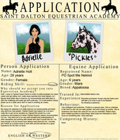 SD Academy Application by painted-cowgirl