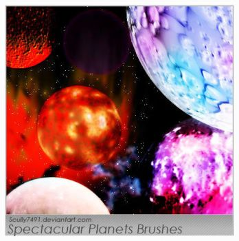 Spectacular Planets Brushes by Scully7491