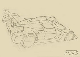 LM car sketch by Morfiuss