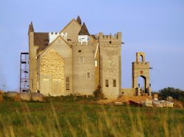 The Shabby Corn Castle by SolStock